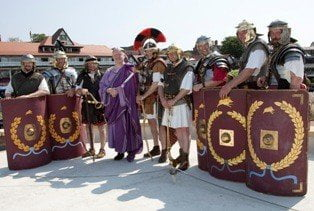 Romans at the Roodee