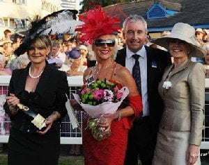 Newton Abbot Ladies' Day success