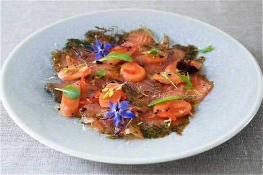 Picnic Recipe: Pickled Summer Carrot, Salmon Gravadlax and Borage