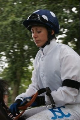 Neck-and-neck in first ever Lady Jockeys' Championship
