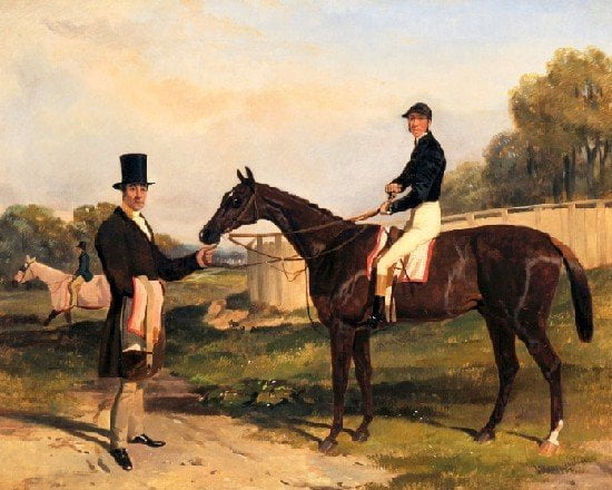 Derby winner stabled in collection founded by 'mystery man of the British turf'