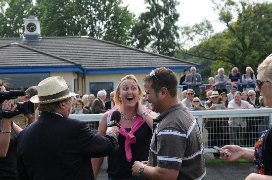 A diamond win for lucky Tamsin at the races