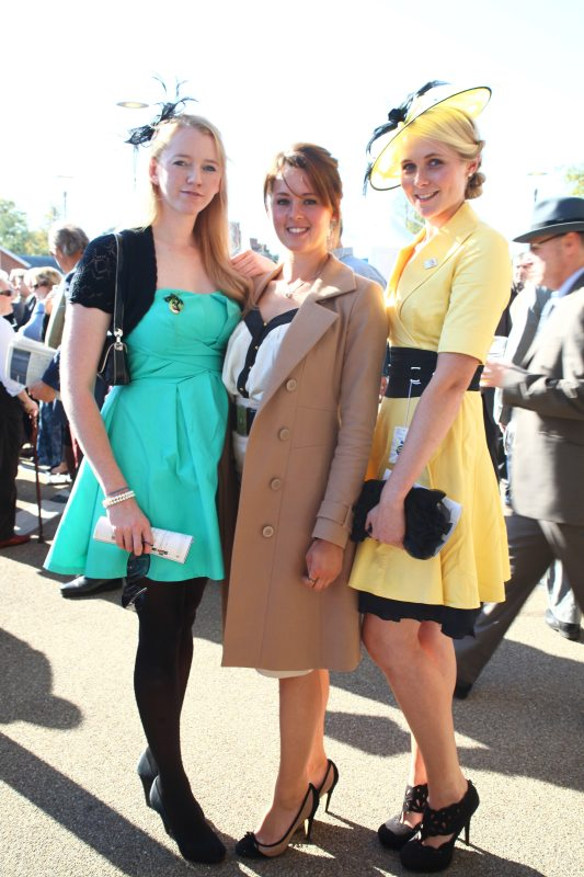 British Champions Day 2011: Fashionable Racegoers