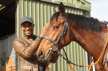 Denise Lewis fulfils a 'secret ambition' with Highclere