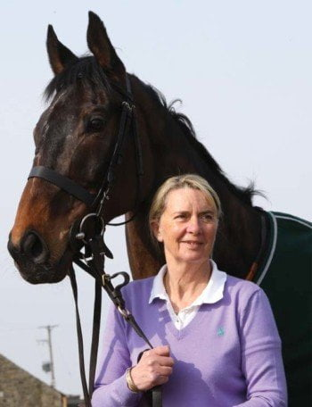 Grand National winning trainer Sue Smith