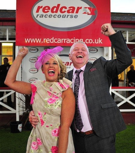 'Redcar-pet' rolled out for Ladies' and Gents' Evening at racecourse
