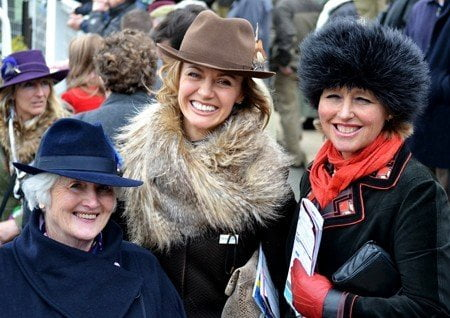 Cheltenham Festival Ladies' Day 2015