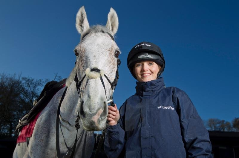 Victoria Pendleton Jockey, Cheltenham Foxhunters