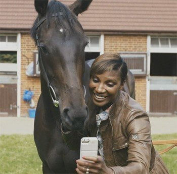 Olympic Champion Denise Lewis learns how to train a champion racehorse