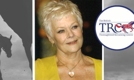New Patron of the British Thoroughbred Retraining Centre Dame Judi Dench