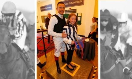 Schoolgirl meets idol Dettori after letter sparked Twitter hunt to 'Find Frankie'