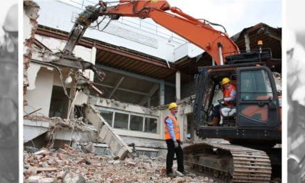 WETHERBY CHIEF EXECUTIVE DEMOLISHES OLD MEMBERS' STAND!