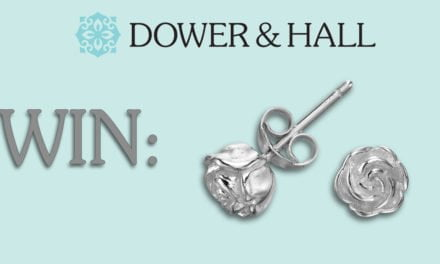 WIN a pair of Rosebud Stud earrings from Dower & Hall