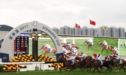 Hong Kong Racing: Helene Paragon powers to Stewards' Cup victory