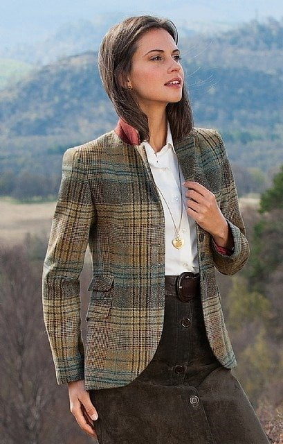 The Ladies Tweed Riding Jacket at houseofbruar.com
