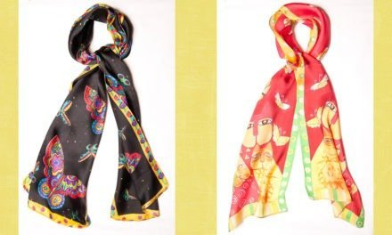WIN A Limited Edition Silk Scarf from Omar Mansoor