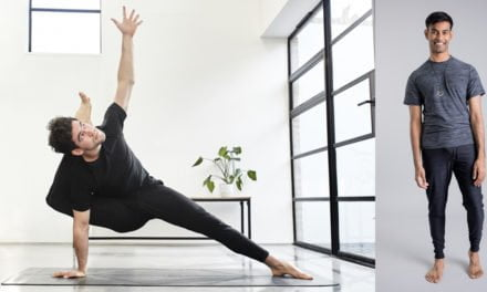 New Year, New Health: WIN a Men's Yoga Outfit from OHMME