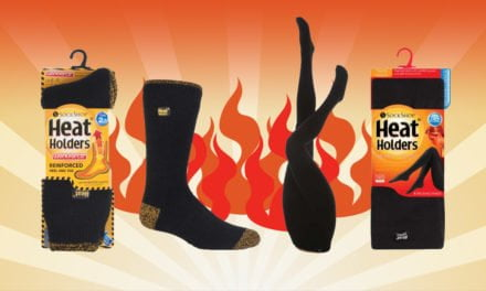 New Year, New Health: WIN Workforce Heat Holder Socks and Thermal Tights from SockShop