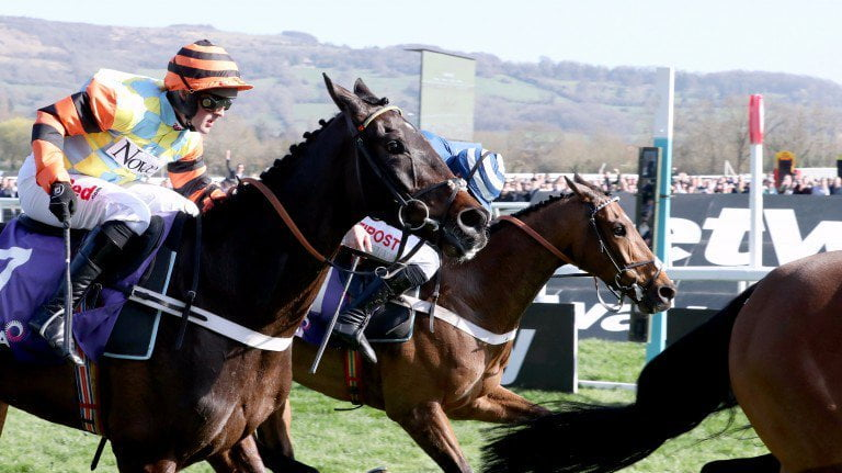 Might Bite On Course For Cheltenham Gold Cup , HorseRacingUK via Twitter for ICS-Digital