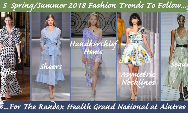 5 Key LFW SS18 Trends to follow for your Grand National outfit