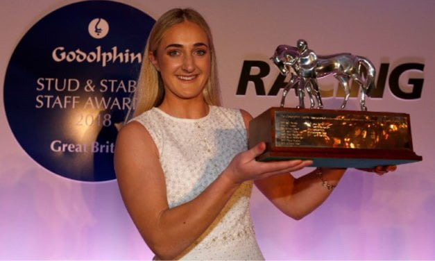 Godolphin Stud and Stable Staff Awards: Jessica McLernon of Musley Bank Stables is employee of the year 2018