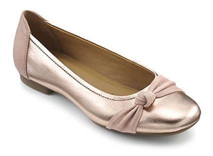 794c6aa7 Very flat shoes, such as ballerina styles, may seem ideal but make sure  they fit! If they are too loose they can cause just as much damage as high  heels: ...