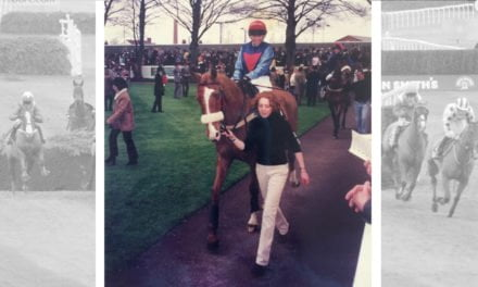 Grand National Ladies: Sarah Swindells in The Fox Hunters Chase