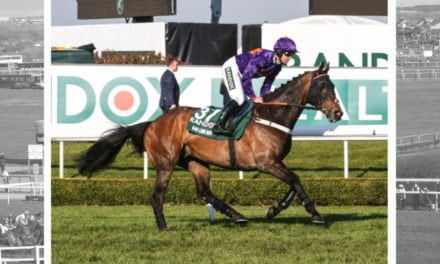 Grand National 2018: Gas Line Boy hoping for third time lucky