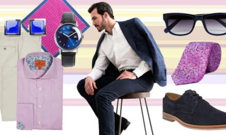 Flamboyant Fashion for Men at the Epsom Derby Festival