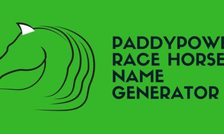 Race Horse Name Generator