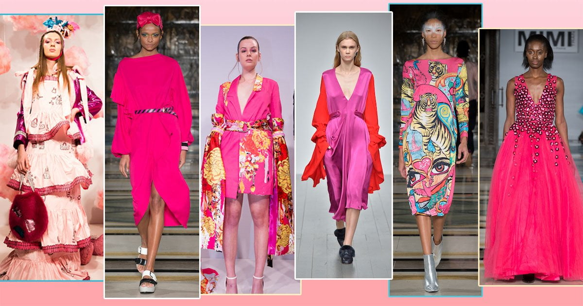 London Fashion Week Autumn/Winter 2018:  Passion for Pink
