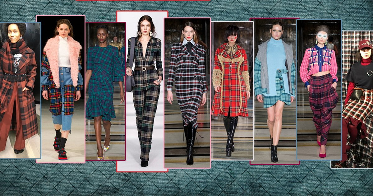 London Fashion Week Autumn/Winter 2018: Tartan Highlights