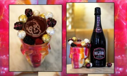 The Belaire Rainbow 'Pop Cocktail'