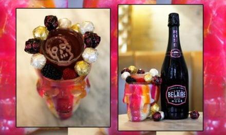 The Belaire Rainbow 'Pop Cocktail'
