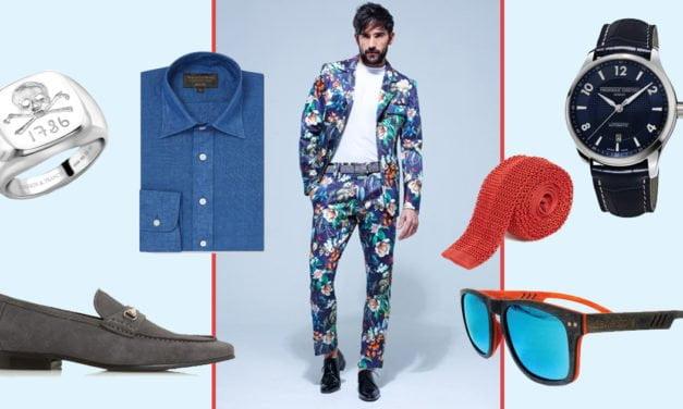 Men: Embrace Flower Power for Newmarket's July Festival Fashion