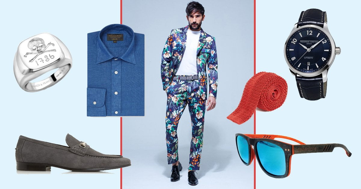 Men: Embrace Flower Power for Newmarket's July Festival Fashion