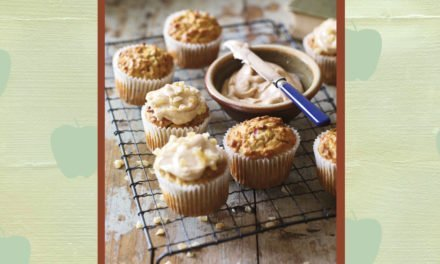 Brilliantly British Apple & Walnut Cakes