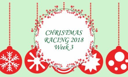 Christmas Racing Saturday 15th–Friday 21st December 2018