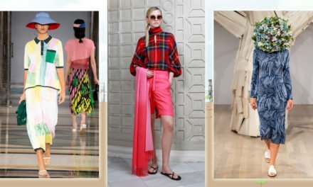 London Fashion Week Spring/Summer 2019 – Summer Knits