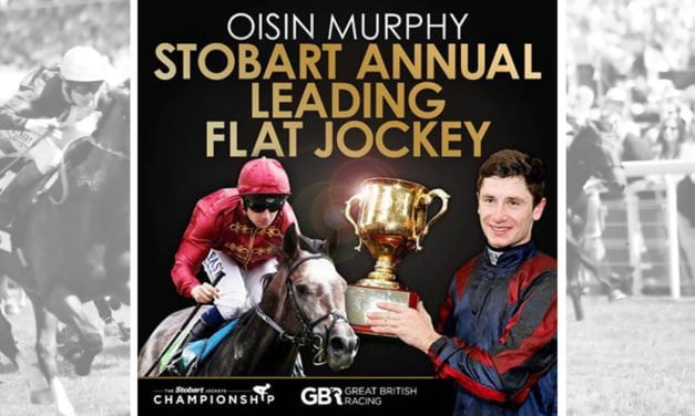 OISIN MURPHY CROWNED 2018 STOBART ANNUAL LEADING FLAT JOCKE
