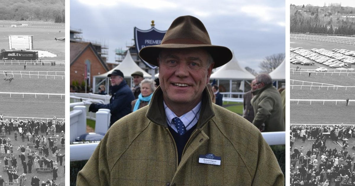First race to be named in honour of departing Clerk of the Course Richard Osgood on Betway Challow Hurdle Day