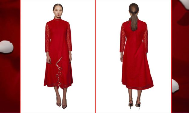 WIN a Red Designer Dress for Valentine's from Omar Mansoor