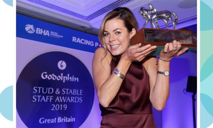 Catriona Bissett crowned Employee of the Year at 2019 Godolphin Stud and Stable Staff Awards