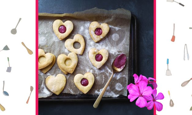 ​Raspberry Cream Shortbreads
