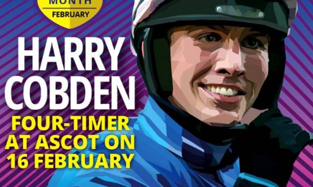 Happy Harry lands Jockey of the Month for Fantastic February