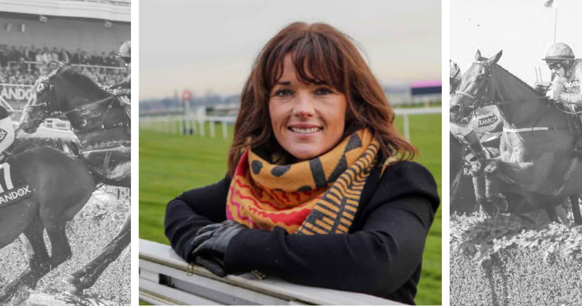 46a4a3d45b6b Randox Health Grand National Ambassador Katie Walsh has visited the yards  of three leading Irish trainers ahead of the 2019 Randox Health Grand  National.
