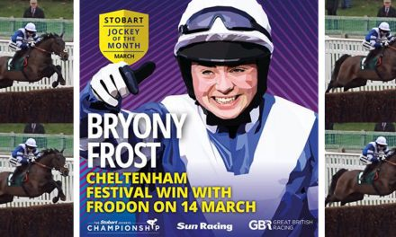Bryony Frost Voted Jockey of the Month after Fantastic Frodon Win at The Festival