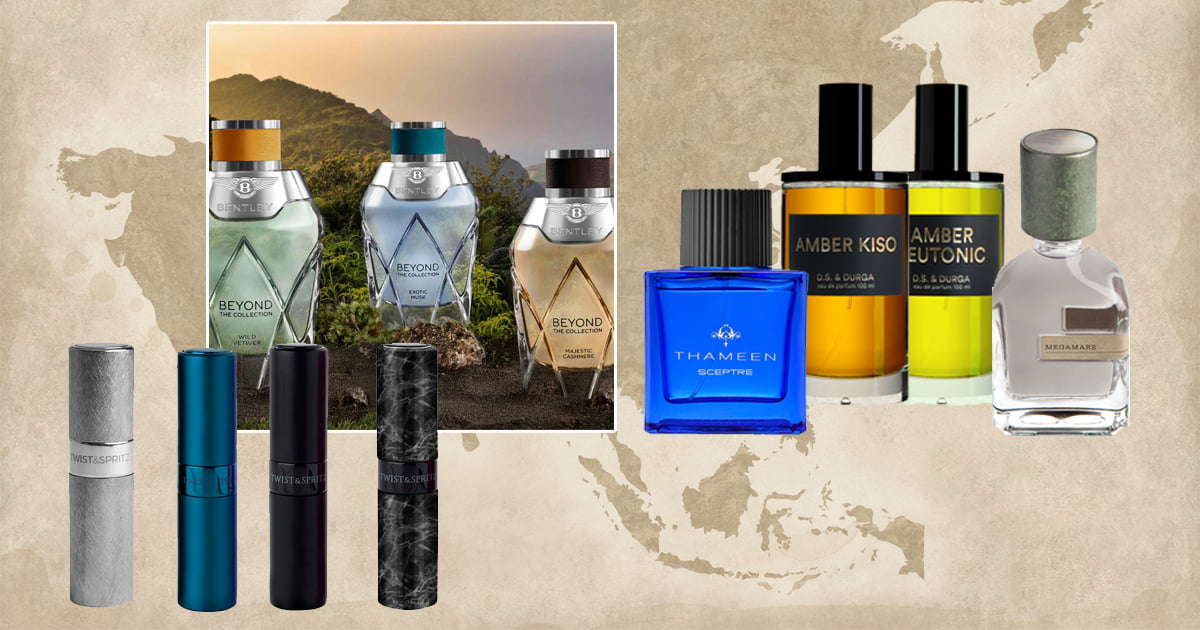 Olfactory Journey with Men's Fragrances