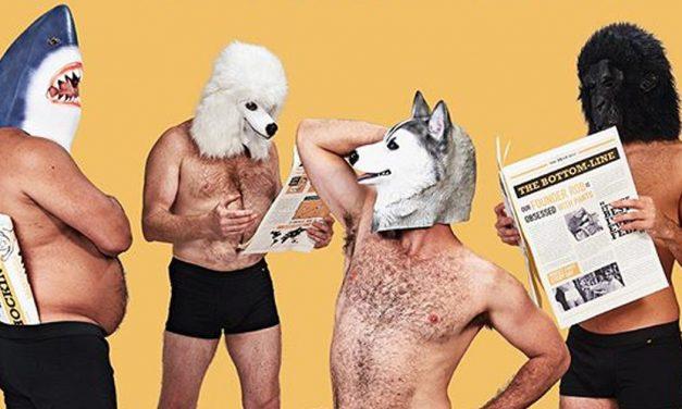 Underwear Brand campaigns against Unrealistic Male Body Image