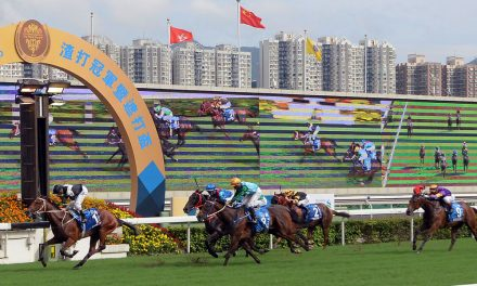 Hong Kong: Exultant's just Champion as Purton hits seven
